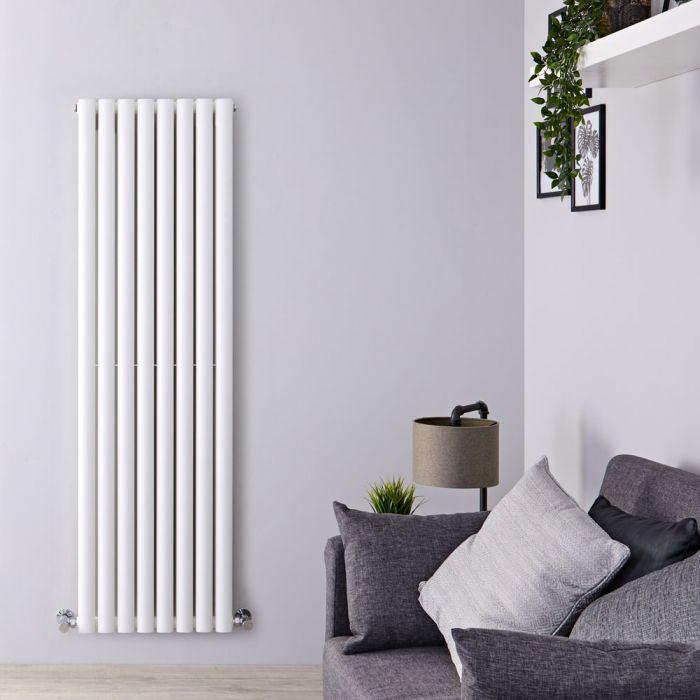 Radiateur Design Vertical Blanc Vitality 160cm x 47,2cm x 7,5cm 1638 Watts