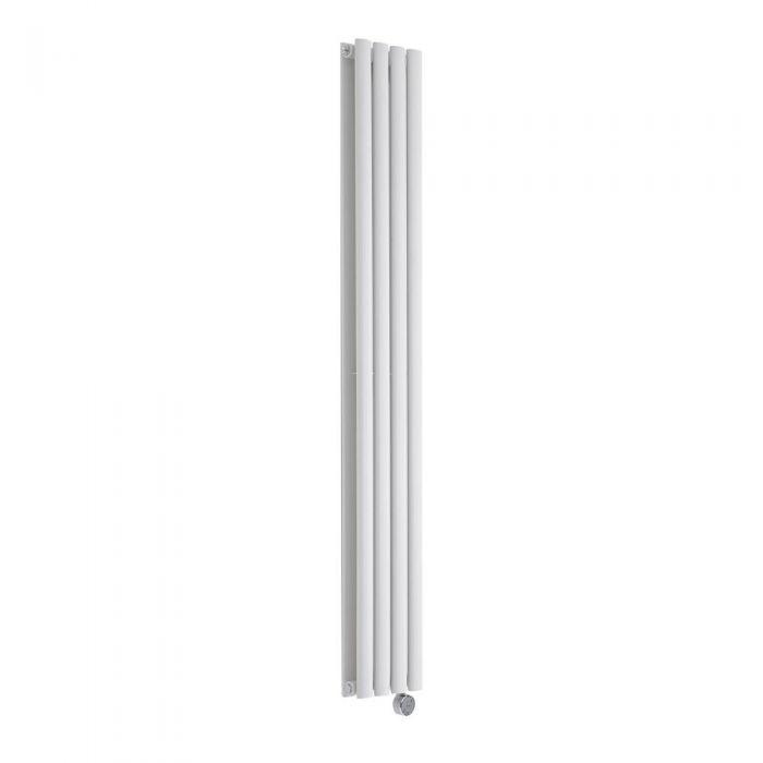 Radiateur Design Électrique Vertical Blanc Vitality 160cm x 23,6cm x 7,8cm