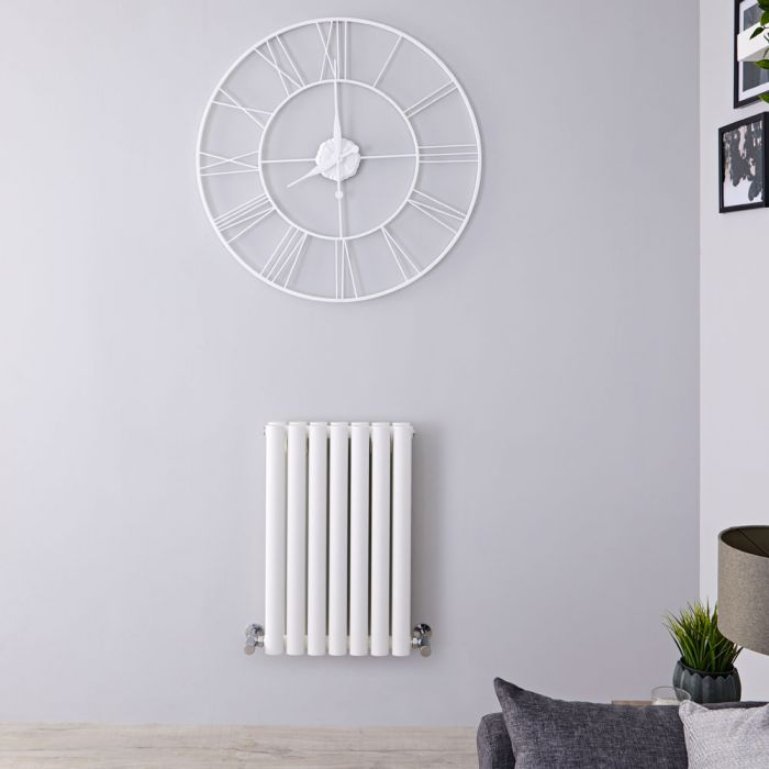 Radiateur Design Horizontal Blanc Vitality 63,5cm x 41,5cm x 7,8cm 652 Watts