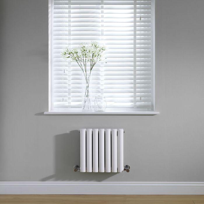 Radiateur Design Horizontal Blanc Vitality 40cm x 41,5cm x 7,8cm 482 Watts
