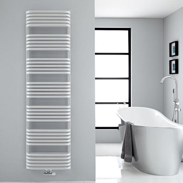 Sèche-serviettes eau chaude blanc Arch 180x50cm 1740 watts
