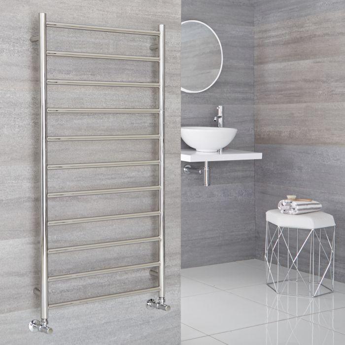 Sèche-serviettes eau chaude 60cm x 120cm - Quo chromé - 436 watts