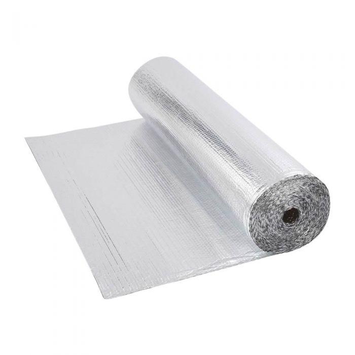 Rouleau isolant aluminium à bulles 25 x 1.2m Ép. 3.5mm