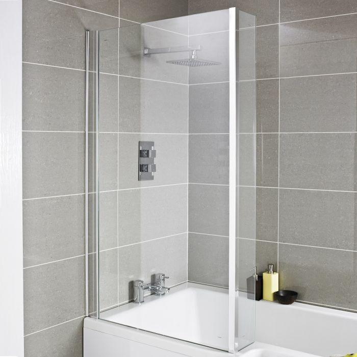 Pare baignoire avec retour 140 x 80.5cm