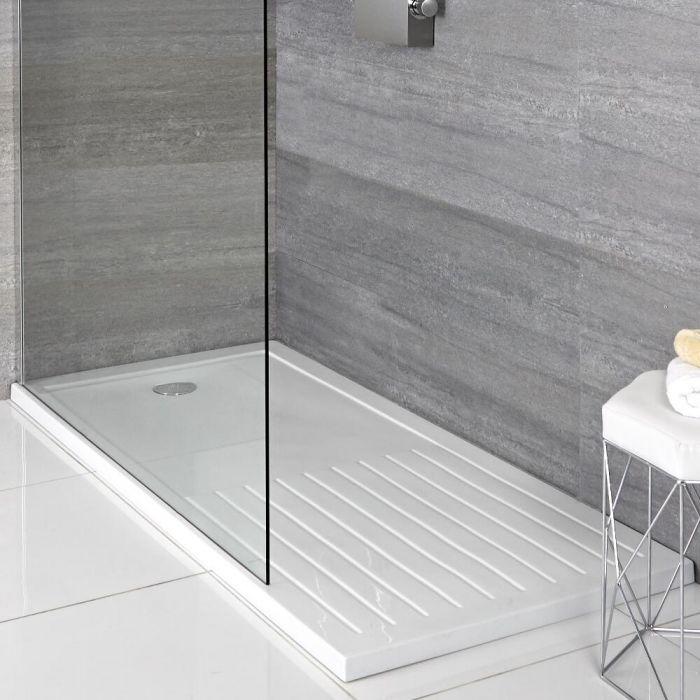 Receveur de douche rectangulaire 140x90cm - Zone de séchage