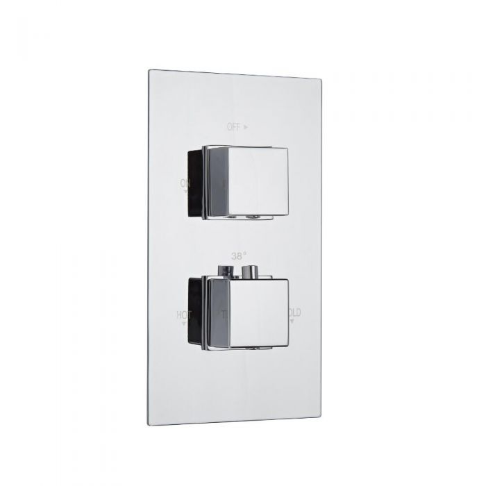 Mitigeur Douche Thermostatique Encastrable Cubique