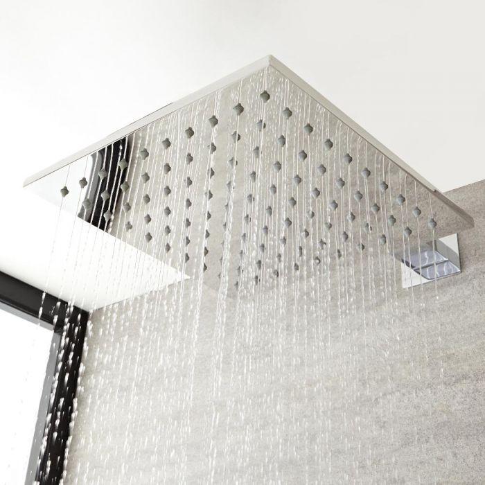 Pomme de douche carrée 40x40cm