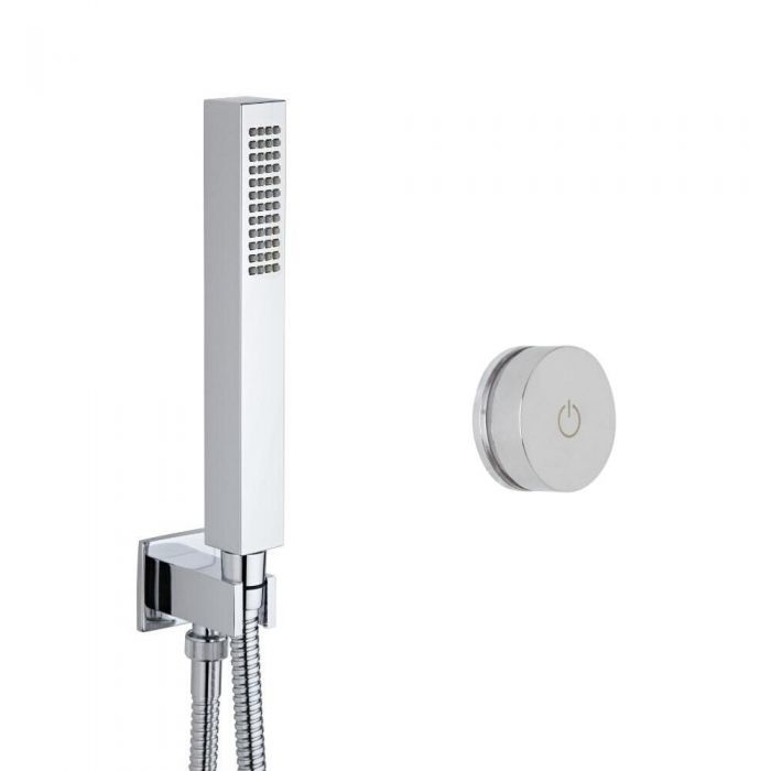 Douche Digitale Thermostatique 1 Fonction & Douchette Cubique - Narus