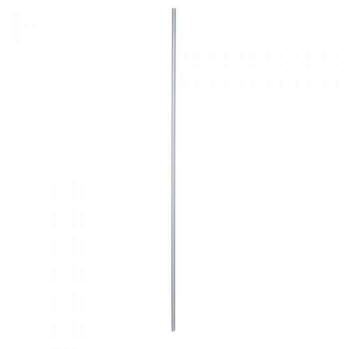 Barre de stabilisation en L pour retour paroi de douche 25cm Lux Blanc
