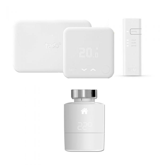 Thermostat Intelligent (v3) Kit d'Extension & Tête Thermostatique Intelligente horizontale Tado°