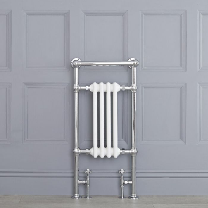 Sèche-Serviettes Blanc Avon 93cm x 45,2cm x 23cm 492 Watts