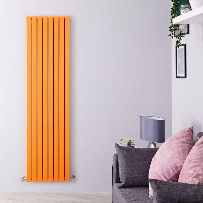 Radiateur vertical Sloane Orange 178 x 47.2cm 1931 watts