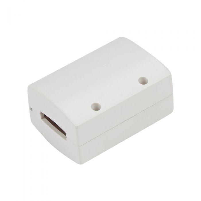 Biard Connecteur pour rail Blanc 4.5x3.5x1.3cm
