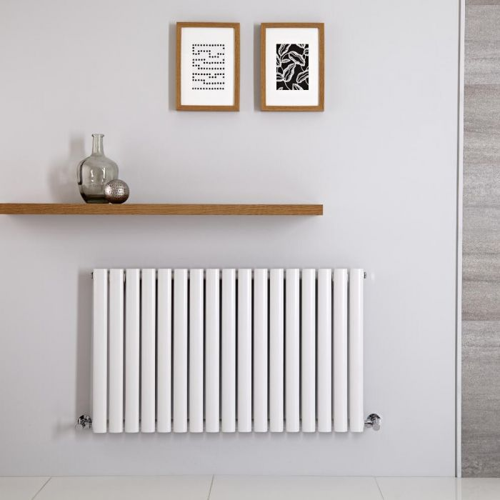 Radiateur Horizontal Vitality Blanc 60cm x 100cm x 5.6cm 948 watts