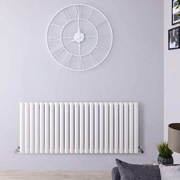 Radiateur Horizontal Vitality Blanc 60cm x 141cm x 5.6cm 1338 watts