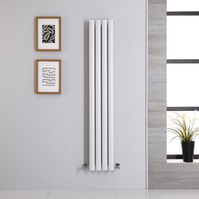 Radiateur Vertical Vitality Blanc 140cm x 23.6cm x 7.8cm 696 watts