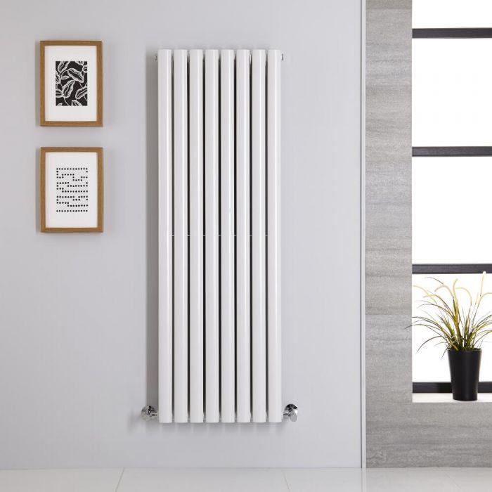 Radiateur Vertical Vitality Blanc 140cm x 47.2cm x 7.8cm 1392 watts