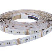 Biard Ruban LED 5050 Blanc & RGB Ultra Brillant 5m