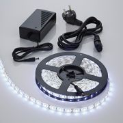 Biard Kit Ruban LED 5050 Blanc froid 5m