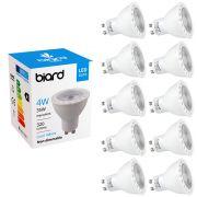 Biard Lot de 10 Ampoules spot LED 4W GU10
