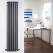 Radiateur Design Vertical Anthracite Vitality 160cm x 35,4cm x 5,6cm 841 Watts