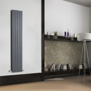 Radiateur Design Vertical Anthracite Sloane 160cm x 35,4cm x 7,2cm 1193 Watts