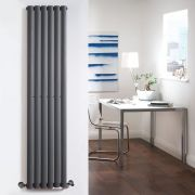 Radiateur Design Vertical Anthracite Vitality 178cm x 35,4cm x 5,6cm 892 Watts