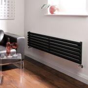Radiateur Design Horizontal Noir Vitality 35,4cm x 160cm x 5,6cm 814 Watts