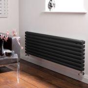Radiateur Design Horizontal Noir Vitality 47,2cm x 160cm x 7,8cm 1600 Watts