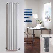 Radiateur Design Vertical Blanc Vitality 160cm x 35,4cm x 10,5cm 1014 Watts