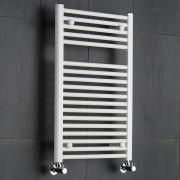 Sèche-Serviettes Blanc Etna 80cm x 50cm x 5cm 474 Watts