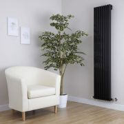 Radiateur Design Vertical Noir Parallel 160cm x 34,2cm x 8,4cm 1053 Watts