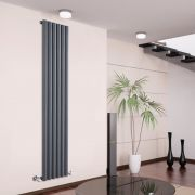 Radiateur Design Vertical Anthracite Savy 178cm x 35,4cm x 8,1cm 1043 Watts