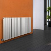 Radiateur Design Horizontal Blanc Vitality 63,5cm x 118cm x 7,8cm 1863 Watts