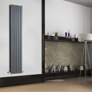 Radiateur Design Vertical Anthracite Sloane 178cm x 35,4cm x 7,2cm 1448 Watts