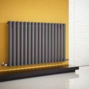 Radiateur Design Horizontal Anthracite Vitality 63,5cm x 100cm x 5,5cm 1015 Watts