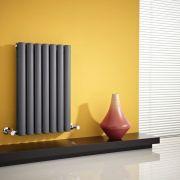 Radiateur Design Horizontal Anthracite Vitality 63,5cm x 41,5cm x 7,8cm 652 Watts