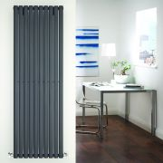 Radiateur Design Vertical Anthracite Vitality 178cm x 59cm x 5,6cm 1487 Watts