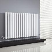 Radiateur Design Horizontal Blanc Vitality 63,5cm x 100cm x 5,5cm 1015 Watts