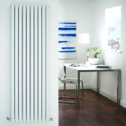 Radiateur Design Vertical Blanc Vitality 178cm x 59cm x 7,8cm 2335 Watts