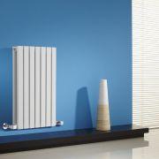 Radiateur Design Horizontal Blanc Sloane 63,5cm x 42cm x 7,1cm 653 Watts