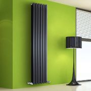 Radiateur Design Vertical Noir Salisbury 178cm x 42cm x 8,6cm 1618 Watts