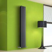 Radiateur Design Vertical Anthracite Salisbury 160cm x 28cm x 8,6cm 983 Watts