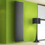 Radiateur Design Vertical Anthracite Salisbury 178cm x 56cm x 6cm 1401 Watts