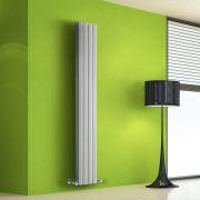 Radiateur Design Vertical Blanc Salisbury 160cm x 28cm x 8,6cm 983 Watts