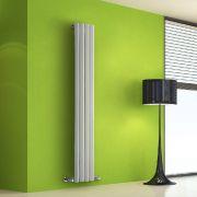 Radiateur Design Vertical Blanc Salisbury 160cm x 28cm x 6cm 630 Watts