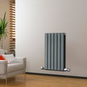 Radiateur Design Horizontal Anthracite Delta 63,5cm x 42cm x 5,8cm 573 Watts