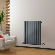 Radiateur Design Horizontal Anthracite Delta 63,5cm x 63cm x 4,6cm 563 Watts