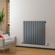 Radiateur Design Horizontal Anthracite Delta 63,5cm x 84cm x 4,6cm 751 Watts