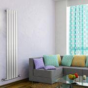 Radiateur Design Vertical Blanc Delta 160cm x 35cm x 4,7cm 733 Watts